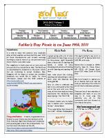 FathersDay_NewsLetter_2011_06_19